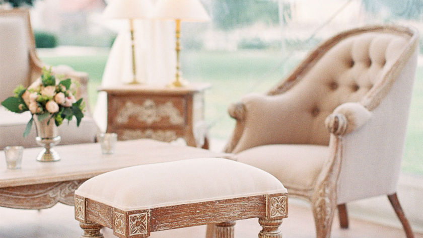 mobilier baroque pour mariage