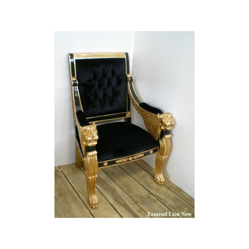 fauteuil-velours-noir