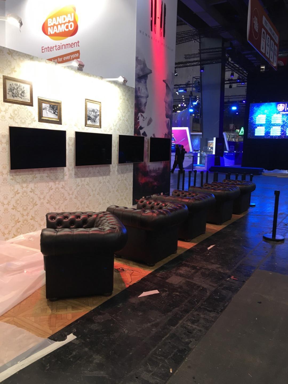 location mobilier pour foire et salon stand salon jeux video paris games week
